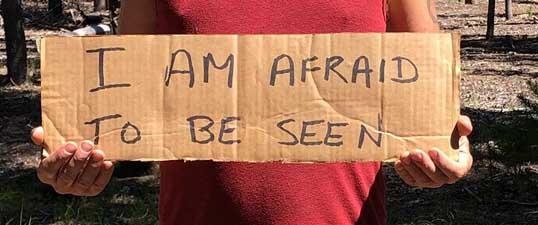 Edward's Story: I Am Afraid To Be Seen